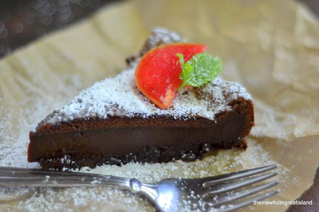 The View from Great Island | Flourless Nutella Cake Oh my God!