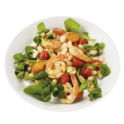 Grilled Shrimp White-Bean Salad | Recipe