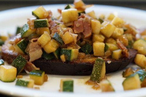 Zucchini Toast | Lieber Lecker als gar nichts essen | Pinterest