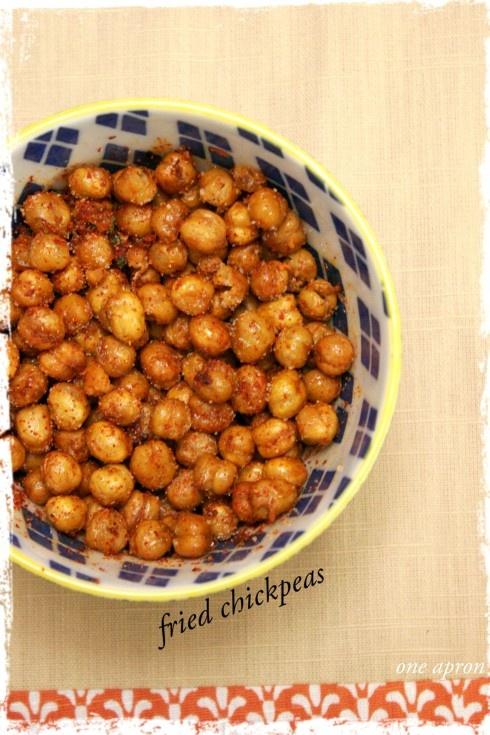 Fried Chickpeas | Food Stuff | Pinterest