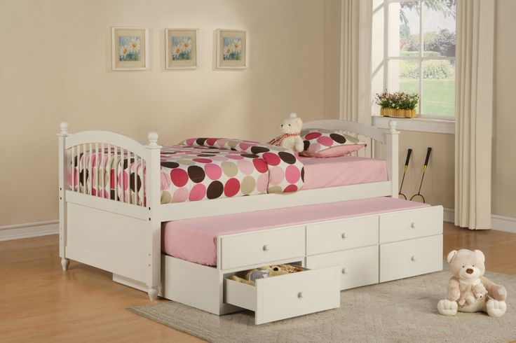 This Bed Is Genius Trundle AND Storage Kids 39 Spaces Pinterest