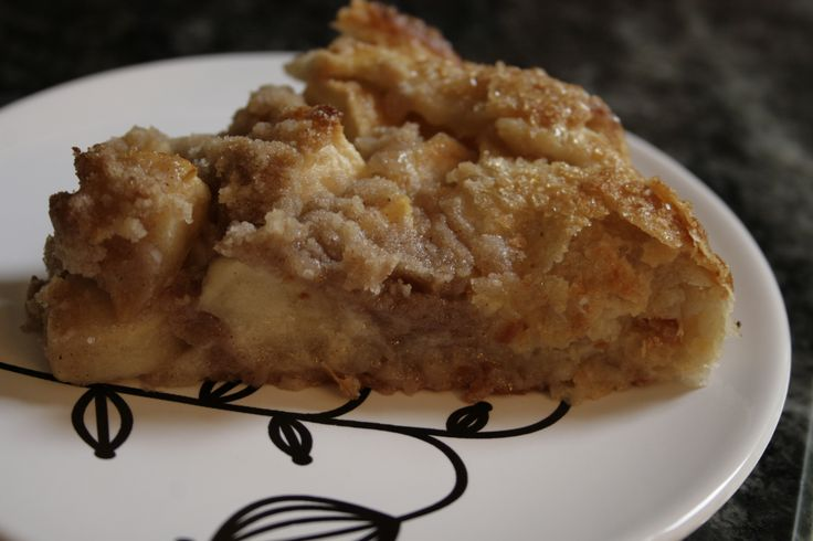 Almond Apple Galette (edibles)
