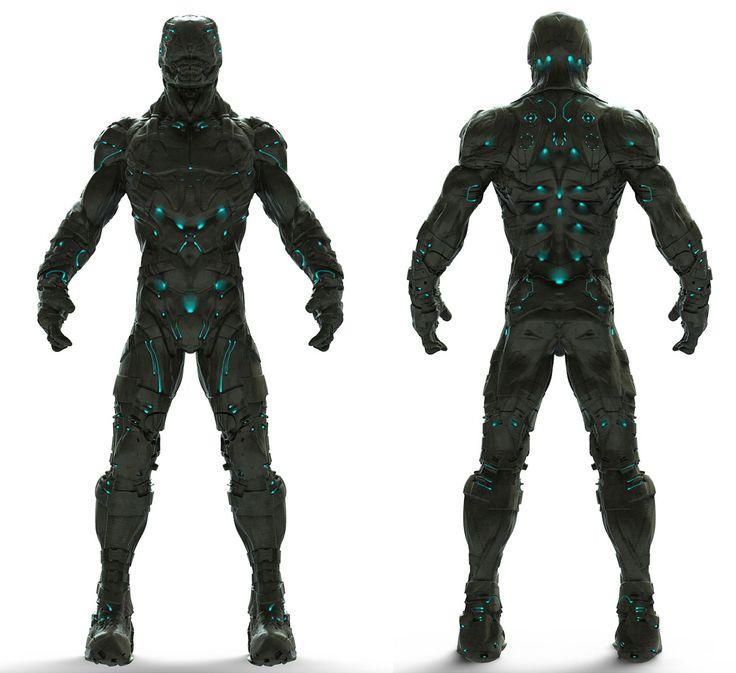 Sci fi armor by morozoff