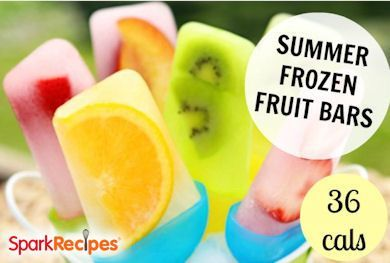 Summer Frozen Fruit Pops Make your own popcicles. Number of Servings ...