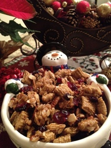 Holiday Snack Mix | Snack mix | Pinterest