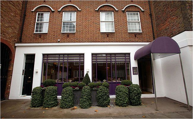 Eat at Restaurant Gordon Ramsay ...his flagship in London, often called Gordon Ramsay at Royal Hospital Road
