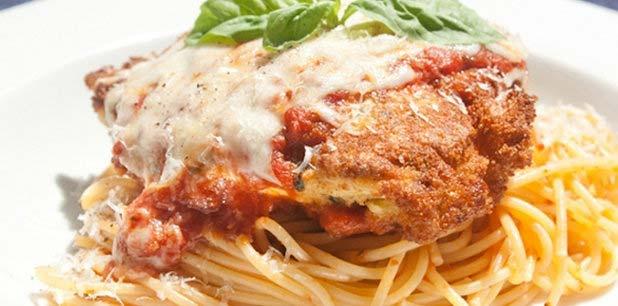 Chicken Parmesan Homemade | Food | Pinterest