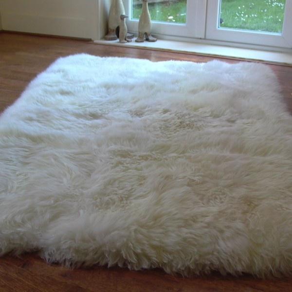 large sheepskin rug rughouse uk home pinterest. Black Bedroom Furniture Sets. Home Design Ideas