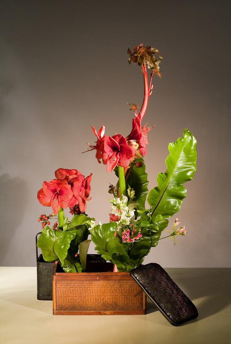 chinese flower arrangement - photo #6