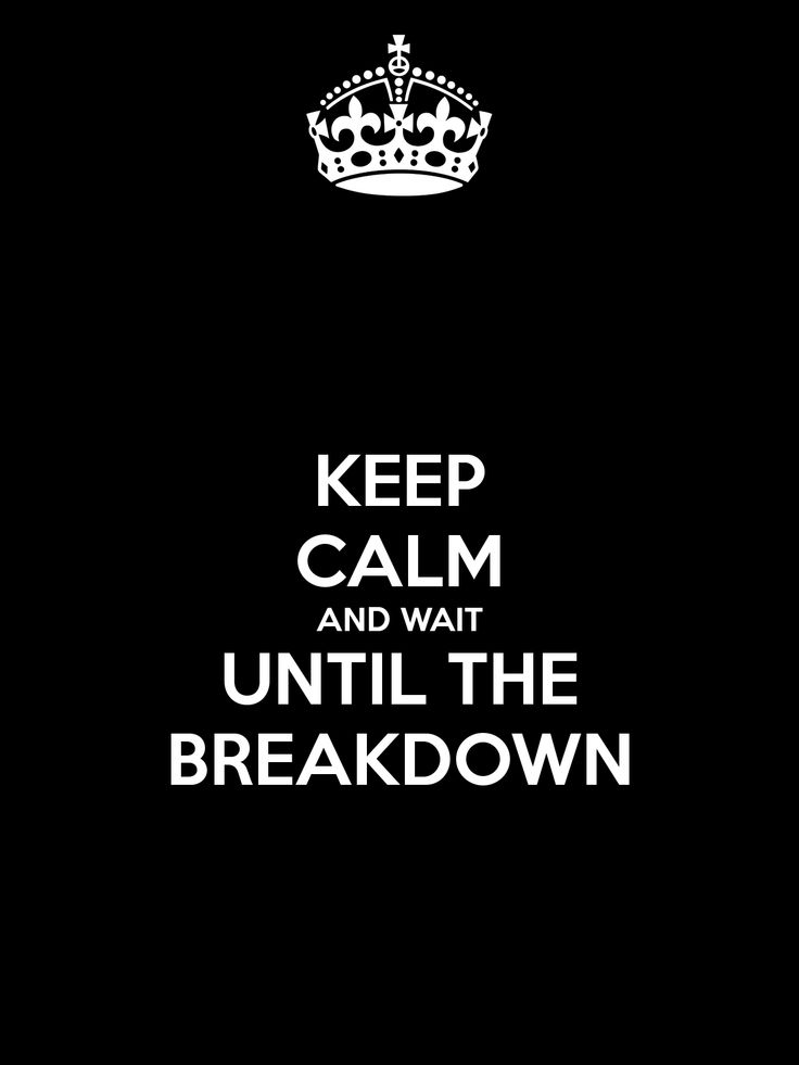 To crack down: suffer a nervous breakdown, synonym: breakdown;
