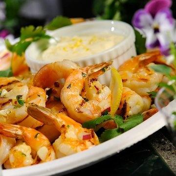 Grilled Shrimp Cocktail | Appetizers - Fish Bites | Pinterest