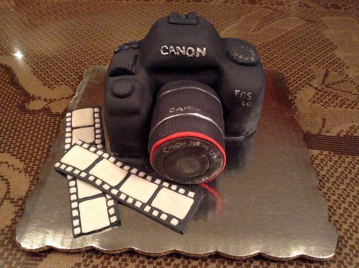 Canon Camera Cake Design : Canon camera cake! Cakes Pinterest
