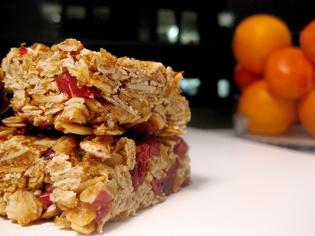 Cranberry Orange Granola Bars | Yummy Stuff--Appetizers, Dips and Sna ...