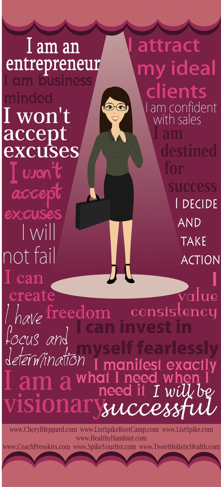 Entrepreneur s manifesto infographic This seems to take Hill s motto    I Am An Entrepreneur Quotes