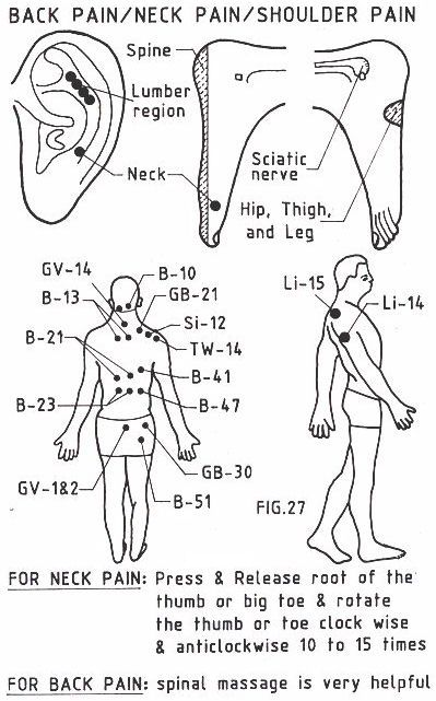Acupressure points this site has pressure points for many ailments