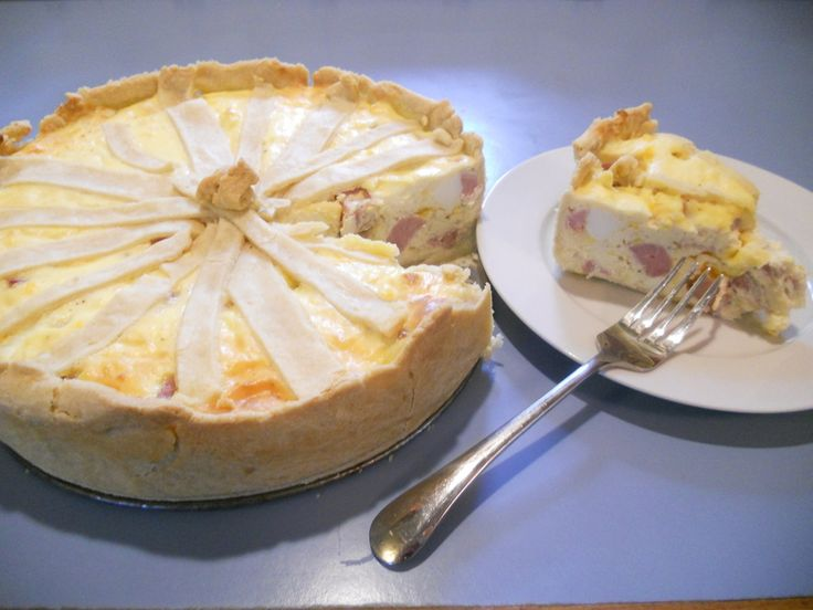 Italian Easter Ham Pie | Grace's Favorite Foods | Pinterest
