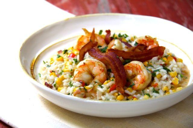 Bulgur Risotto With Corn And Shrimp Recipes — Dishmaps