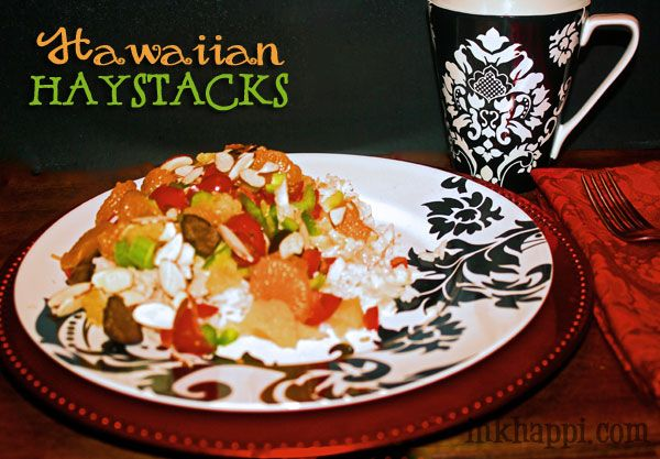 These are so easy to make and YUMMY! Hawaiian Haystacks recipe and ...