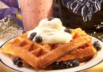 Blueberry Waffles | Recipes... Breakfast/Brunch | Pinterest