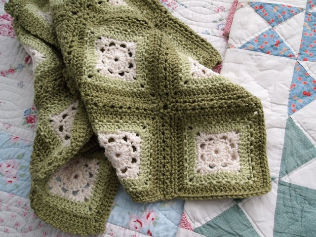 Eco-granny Afghan~ FREE Pattern