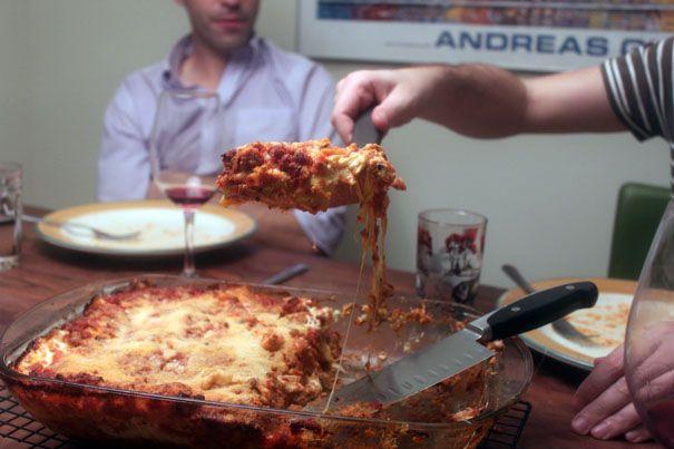 Birthday Lasagna from The Amateur Gourmet. http://punchfork.com/recipe ...