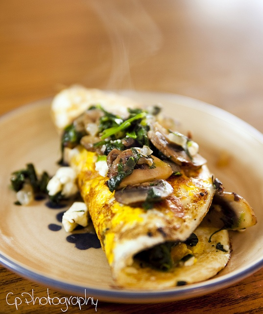 spinach and feta omelet te mushroom and spinach omelet jpg # mushroom ...