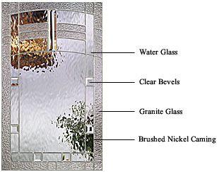 Maple park decorative glass thermatru decorative glass for Therma tru maple park
