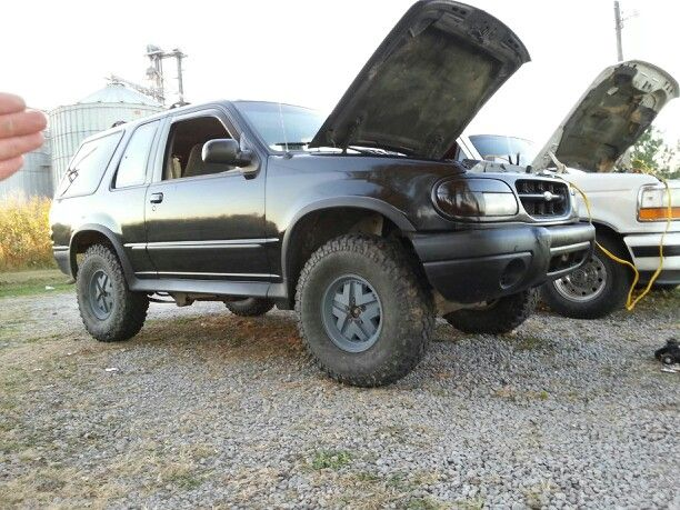 ford explorer after lift kit trucks pinterest. Cars Review. Best American Auto & Cars Review