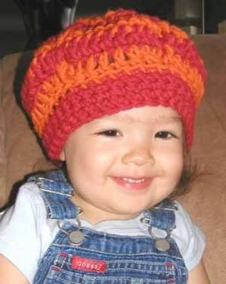 Free Crochet Pattern chs-BeretAndScarf Beret & Scarf
