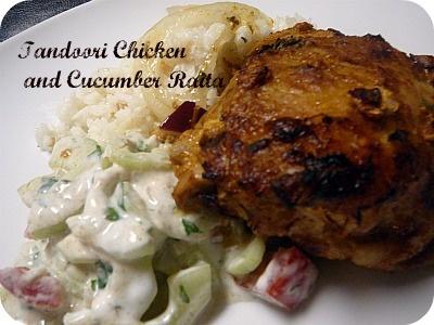 with raita tandoori chicken tandoori chicken tandoori chicken tandoori ...