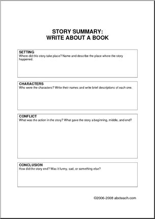 Write my sample book review format