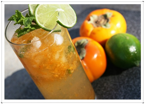 Persimmon Mojitos | bevvies | Pinterest