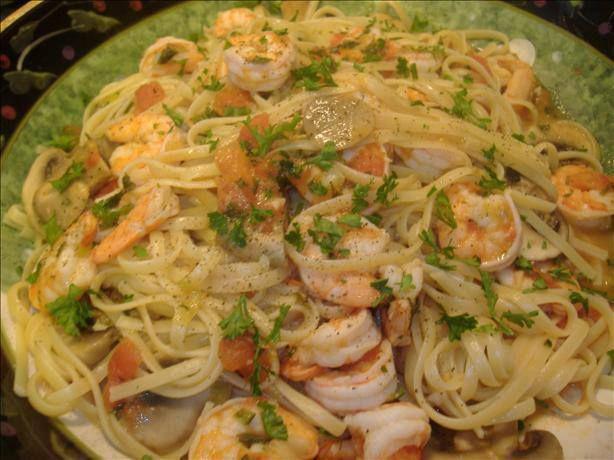 Shrimp Fettuccine Alfredo | Eat | Pinterest