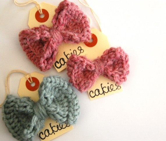 Crochet Hair Bows : sweet crochet hair bows Crochet Pinterest