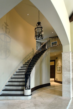 Sweeping Staircase Homes By Silvergate Pinterest