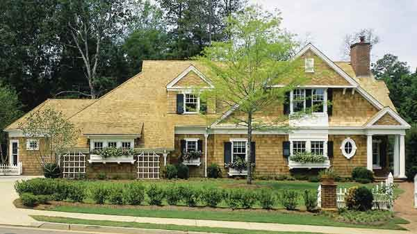 Robert A.M. Stern 1994 LIFE magazine Dream House - an all-time favorite of mine - LOVE IT!  ~ Plan LDH-1994 @ http://houseplans.southernliving.com/plans/