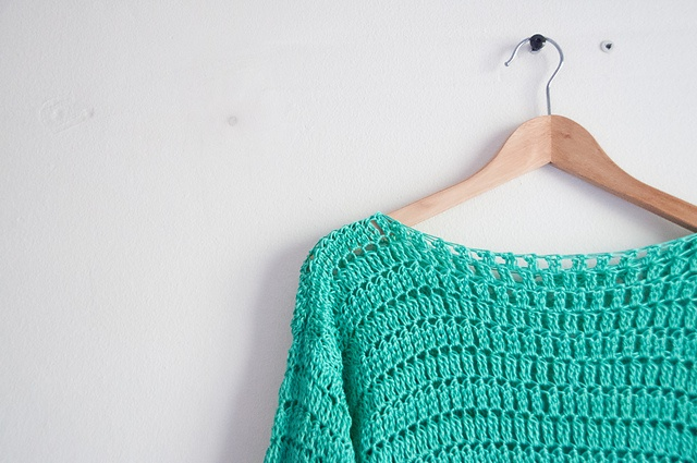 Crochet Stitches Loose : Ravelry: Loose fit crocheted summer pullover/sweater pattern by Joy of ...