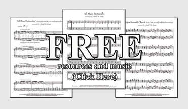 FREE Piano music and resources by Jerald M. Simon and Music Motivation (original compositions, chord progressions, scales, piano teacher handouts, and more) - visit http://musicmotivation.com/resources and download fun, cool, piano resources for piano teachers and piano students