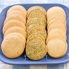 Orange-Poppy Seed Slice-and-Bake Cookies from Cook's Country February ...