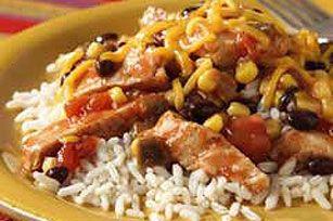 Santa Fe Chicken & Rice recipe | Main Dishes | Pinterest