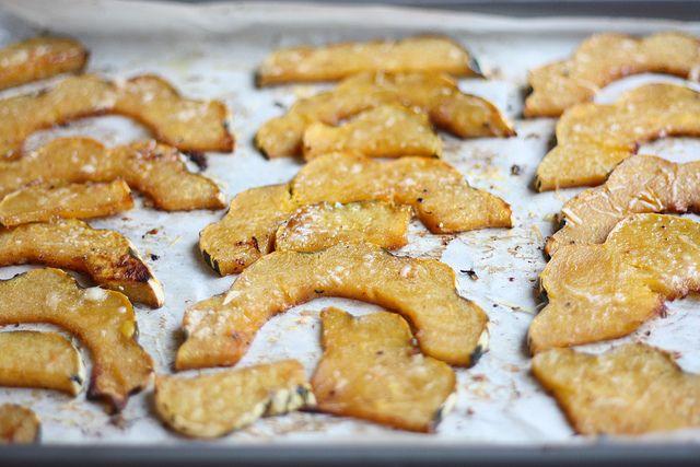 Parmesan Roasted Acorn Squash | Delicious, Tried & True | Pinterest