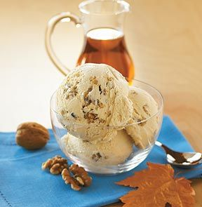 maple walnut ice cream - a new favorite. forget butter pecan...