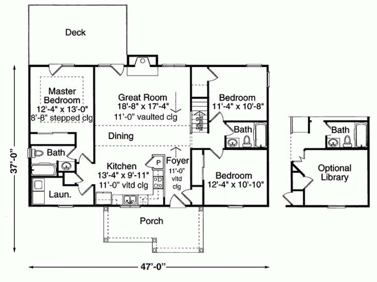 1300 Sq Ft 3 Bd Level 1 House Plans Pinterest