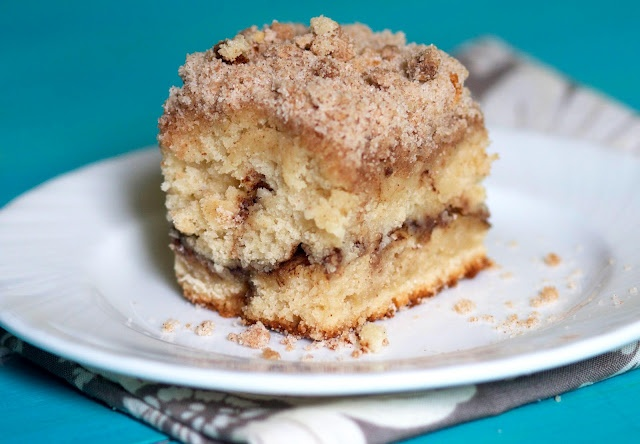 cinnamon streusel coffee cake | Breakfast | Pinterest
