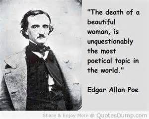 Death of a beautiful woman edgar allan poe pinterest