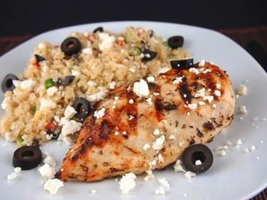 Grilled Greek Chicken | Recipe