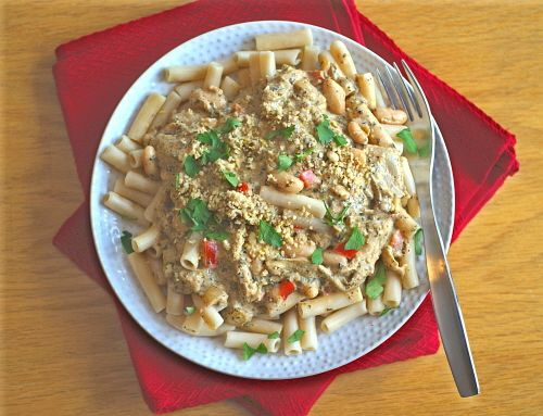 Creamy Creole Eggplant Pasta Bake | Recipes - Pasta | Pinterest