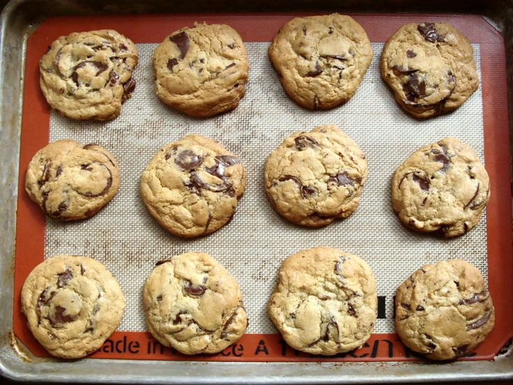 best chocolate chip cookies | Favorite Recipes | Pinterest