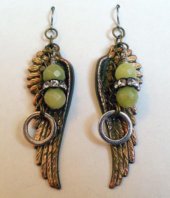Love these earrings by marehar.