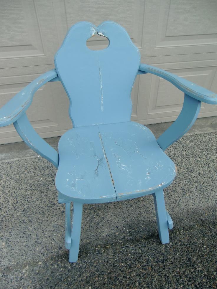 Light blue chair paint pinterest